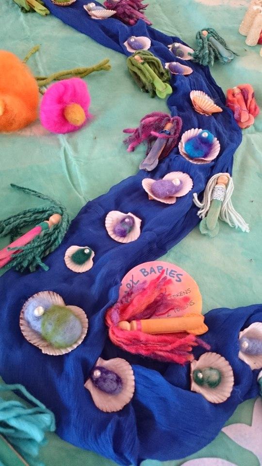 mermaids and pearl babies